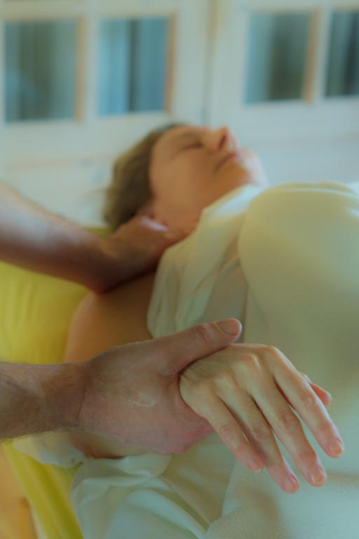 Massage af en arm